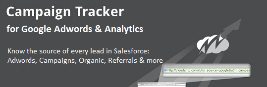 Google Analytics Campaign Tracker for Salesforce by CloudAmp